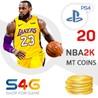 ?? NBA2k20 MT Coins (PS4) - Монеты для My Team НБА