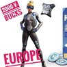 Fortnite скин Neo Versa + 2000 V-Bucks  for ps4 EU/RU