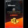 1000 ЗОЛОТА WORLD OF TANKS   WOT - БОНУС-КОД