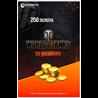250 ЗОЛОТА WORLD OF TANKS | WOT - БОНУС-КОД