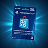 PLAYSTATION NETWORK CARD (PSN) 20$ US (ONLY USA ACC)