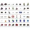 1000 профессиональных анимированных картинок. Транспорт